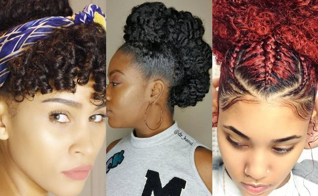 Natural Curly Styles For Black Hair: 17 Best Ideas About Natural Hair Updo On Pinterest