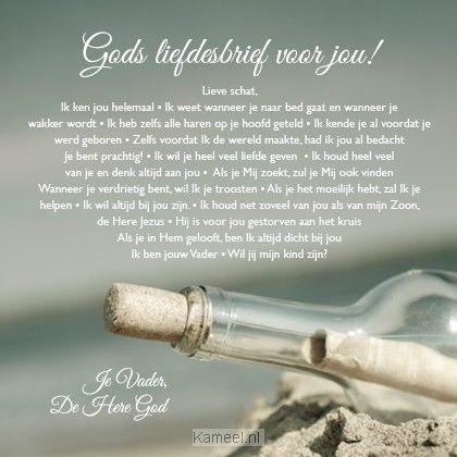 Productafbeelding Kaart Gods liefdesbrief voor jou