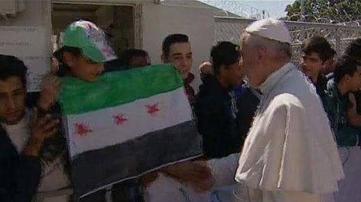 SBAVATURE NELL'ORGANIZZAZIONE DELLA VISITA DI PAPA FRANCESCO IN SIRIA