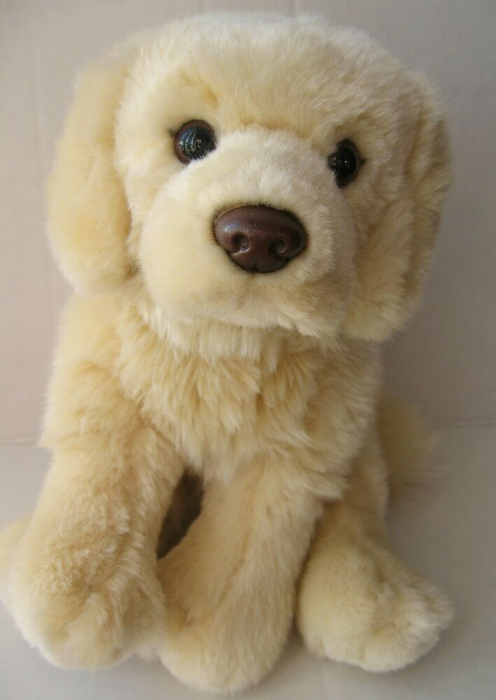 Ganz Webkinz Signature Golden Retriever Plush Puppy Dog Toy