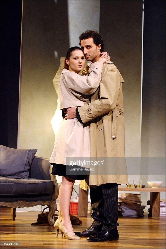 Virgine Ledoyen, Arie Elmaleh in Paris, France on January 26, 2007.