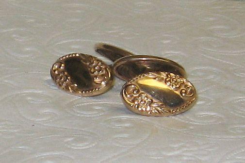 Marvelous Vintage Goldtone Cufflink Set //Price: $65.00 & FREE Shipping //     #vintagejewelry