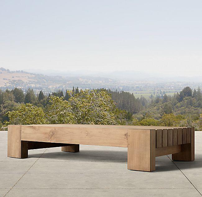 Bardenas Coffee Table Rustic Outdoor Desert Landscaping Backyard Patio Designs
