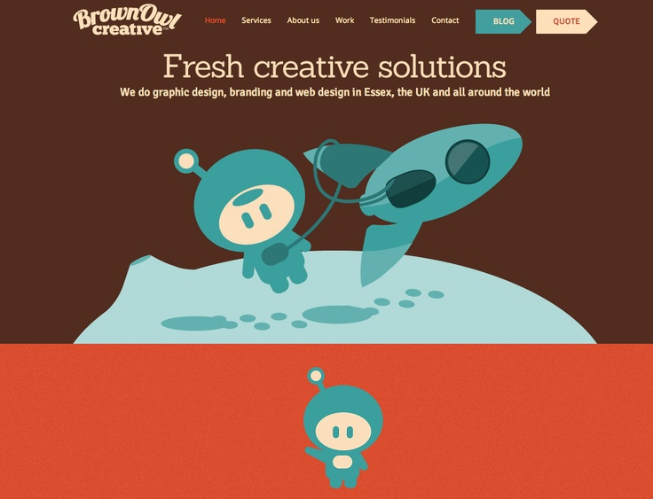 Brown Owl Creative   Web Design   Fun Illustrations