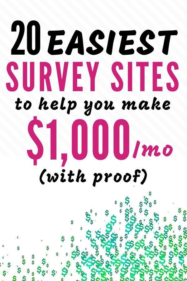 11 Best Survey Sites For Paid Online Surveys For Cash 115 Hr