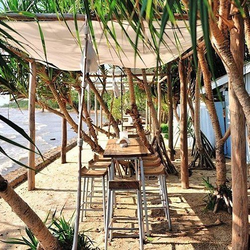 Kep, Cambodia @classetouriste shared her view from a table 'pieds dans l'eau' at @knaibangchattresort. What a location for a drink or a meal! Have you been here? Amazing #travelintoliving experience. #beautifulcambodia
