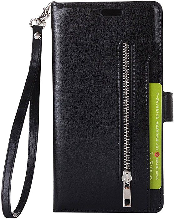 cheap for discount f0b30 596c0 Amazon.com: Galaxy Note 8 Case, SUPZY Leather [9 Card slots] [photo ...