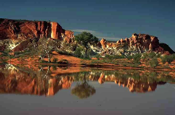 alice springs australia | rainbow valley south of alice springs australia