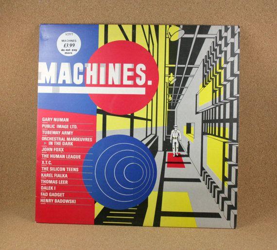 Machines  Various Artists Album  Virgin Records  by N2THEATTIC