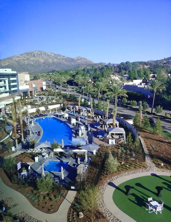 Willows Hotel and Spa at Viejas Casino Resort in San Diego delivers modern luxury and all of the amenities you'd expect for the perfect weekend getaway.