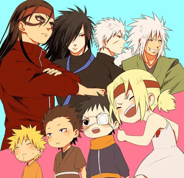 Boruto Jiraiya: Naruto, Boruto And Anime