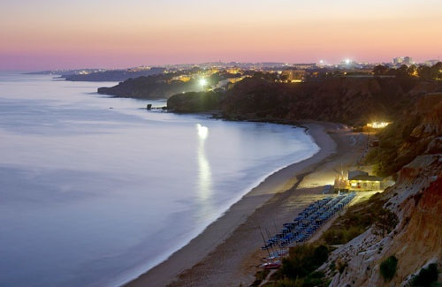 Albufeira, Portugal's southern coast #travel #portugal