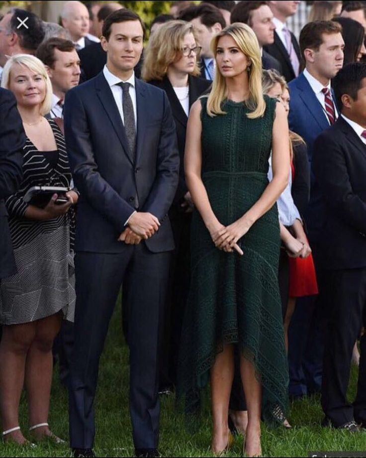Ivanka Trump wearing #costarellos.