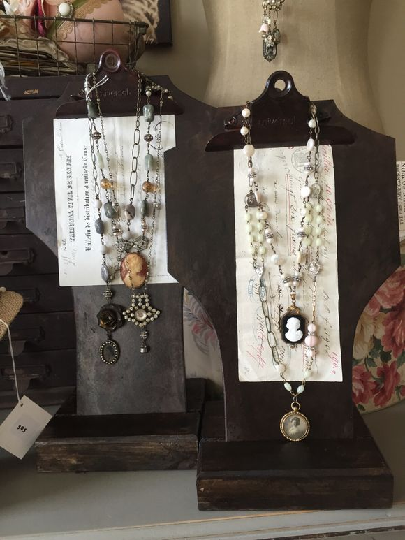 Creative Display And Beautiful Jewelry By Lori Oles