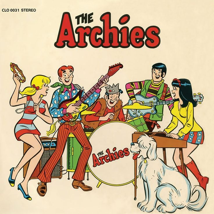 The Archies - The Archies on Limited Edition LP