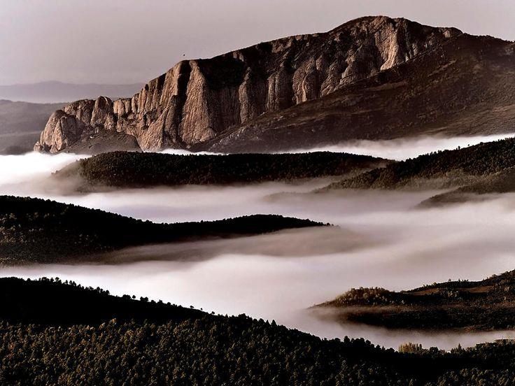 Côte à Les Pyrénées de Huesca