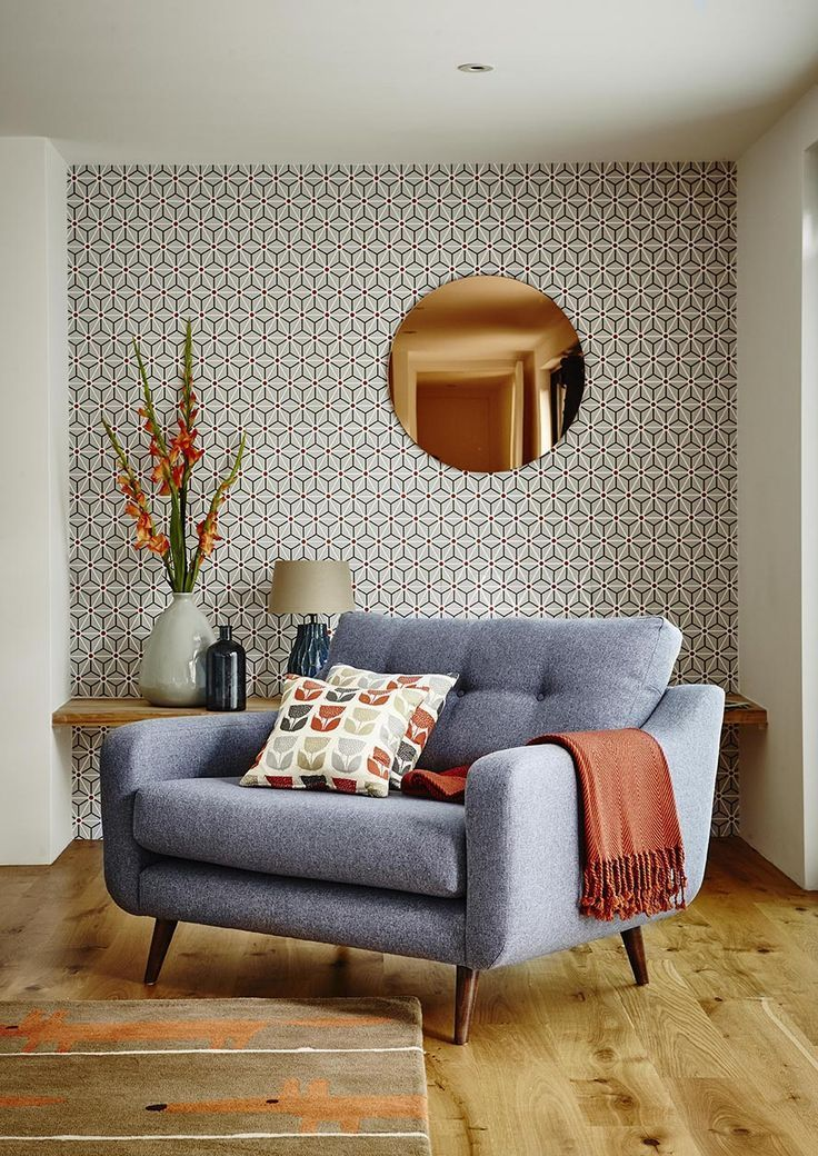 Accent Chairs For Living Room Home Decorating #32549. Mid Century ... Part 58