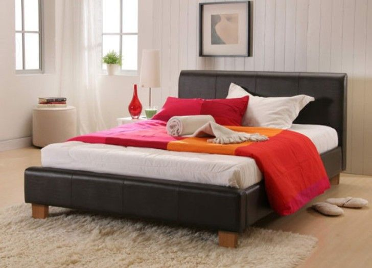 bedroom designs bedroom design with white bed and red and orange blanket cool design with nut brown fur rug the awesome bed frames for won
