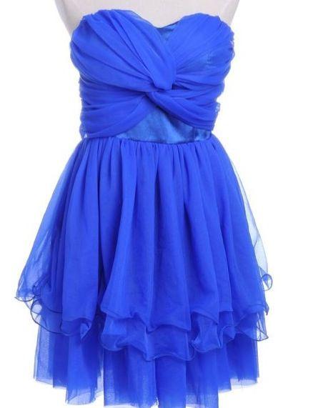 Cute blue grad dress