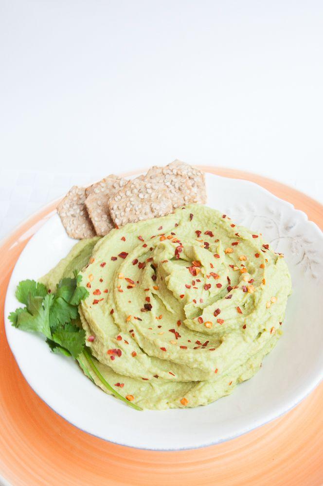 Avocado Hummus Recipe - Vegan Family Recipes