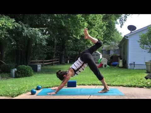 25-Minute Core and Arm Power Yoga Sequence - YouTube