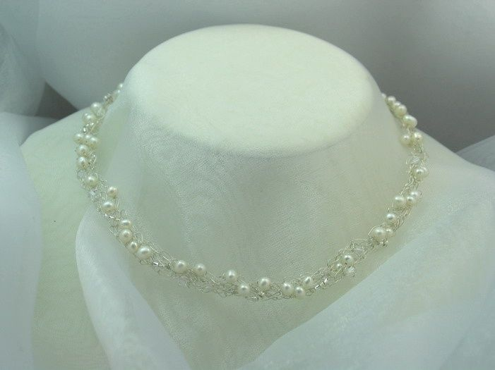 Brautschmuck swarovski  Best 25+ Kette mit perle ideas on Pinterest | Armband, Armband and ...