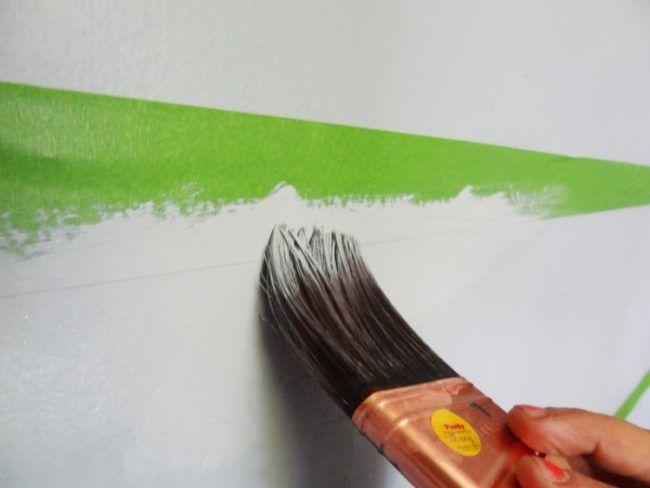 die besten 25 wand streichen streifen ideen auf pinterest wandgestaltung streifen graue. Black Bedroom Furniture Sets. Home Design Ideas