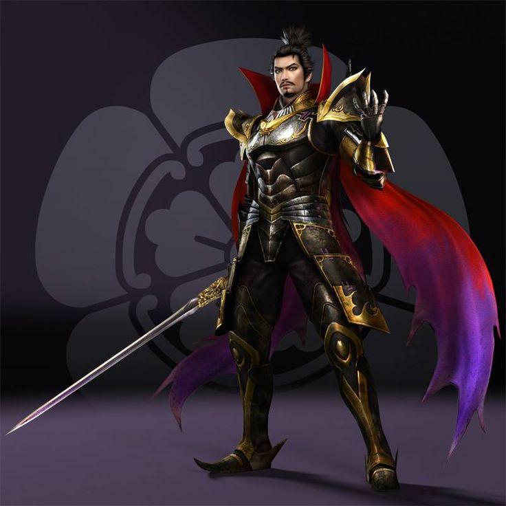 Samurai Warriors 4's rendition of Nobunaga Oda . <3