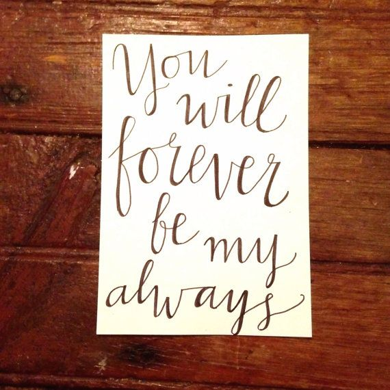 Bon Marriage Wedding Canvas Quote You Will Forever Be By TheDIYdivaa