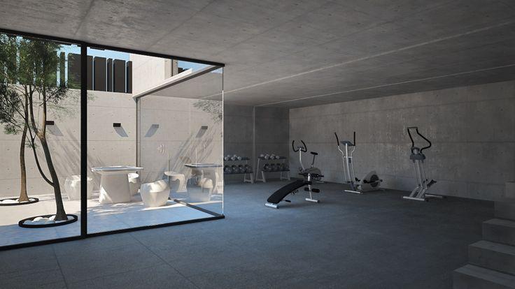El Estudio de interiorismo y arquitectura en Madrid GrupoIAS realiza la propuesta para un proyecto de diseño de una vivienda unifamiliar, donde una lámina de agua va a recorrer tanto el exterior como el interior de la vivienda, generando una interactuación entre espacios cerrados y abiertos en la vivienda. La
