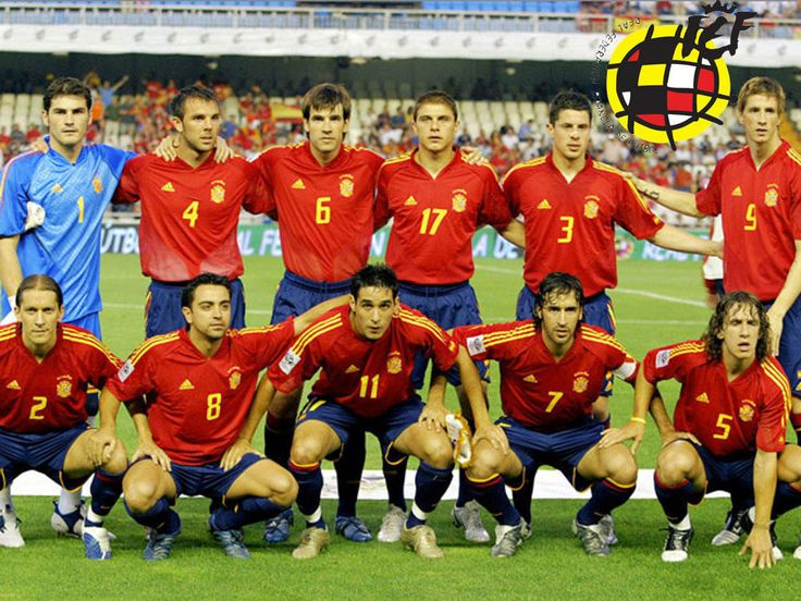 THE WORLD CHAMPIONS, THE NATIONAL TEAM OF SPAIN - OLE!!!