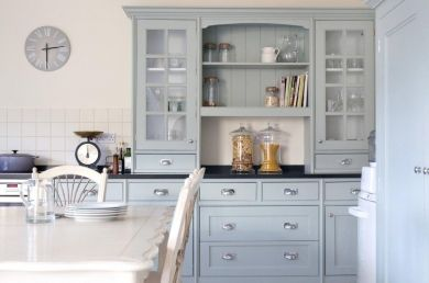 Modern Country Style: Case Study: Farrow and Ball Light Blue (Pt 2) Click through for details.