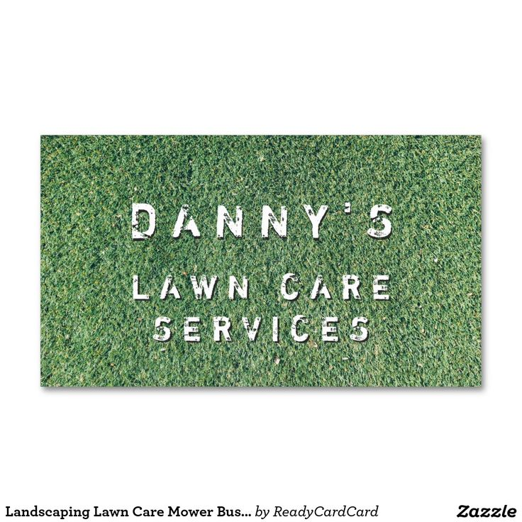 93 best Lawn Care & Landscaping Business Cards Ideas images on ...