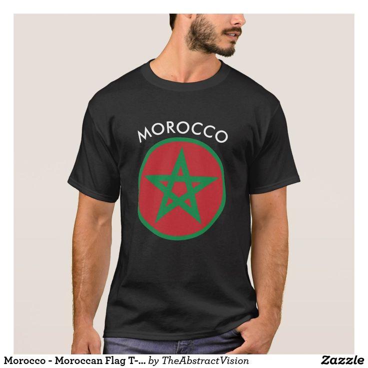 Morocco Men's Classic Flag Tee 2.0 Ac0QfReZa1