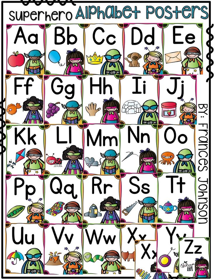 Classroom Decor Bundles ~ The best superhero alphabet ideas on pinterest