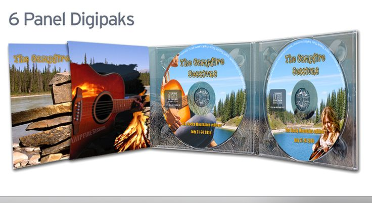 "Album design ""The Campfire Sessions"""