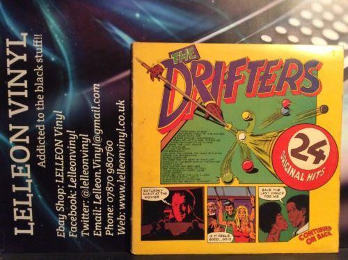 The Drifters 24 Original Hits Double LP Album K60106 70's Motown Soul R&B Music:Records:Albums/ LPs:R&B/ Soul:Motown