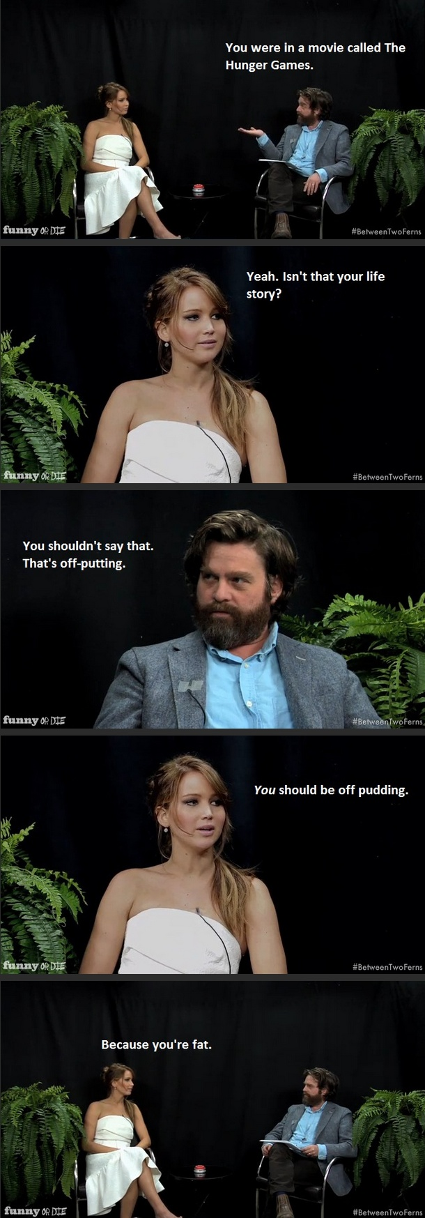 J-Law vs Zach on Between Two Ferns