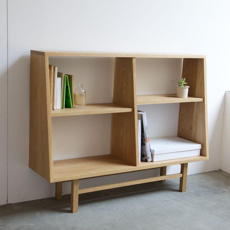 グリニッチオリジナル家具 ブックケース(ワイド)の詳細画像
