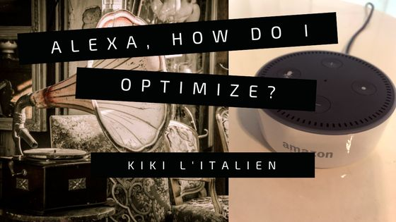 Alexa, How Do I Optimize for Voice Search?  ||  Figuring out how to optimize for voice search should be on every marketer's mind. Here are the essentials of voice search optimization [...] http://www.amplifiedgrowth.net/2017/10/14/optimize-for-voice-search/?ref=quuu&utm_campaign=crowdfire&utm_content=crowdfire&utm_medium=social&utm_source=pinterest