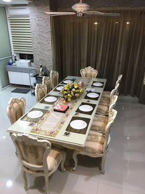 Mebel dan Furniture Jepara: Dinning Table Duco Elegant