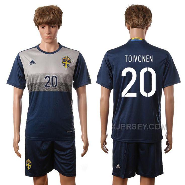 http://www.xjersey.com/sweden-20-toivonen-away-euro-2016-ersey.html SWEDEN 20 TOIVONEN AWAY EURO 2016 ERSEY Only 33.11€ , Free Shipping!