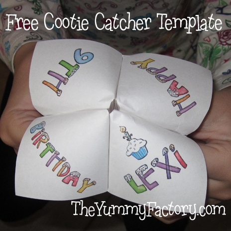 155 best Cootie Catcher   Fortune Teller images on Pinterest - cootie catcher template