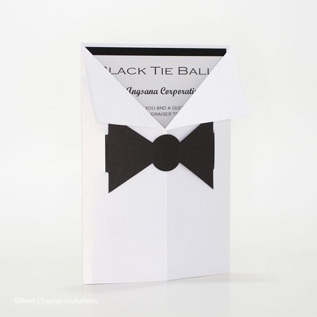 40 best c6 pocket wedding invitations images on pinterest pocket black tie delight your guests with this cute invitation the jacket is metallic brilliant white stopboris Choice Image