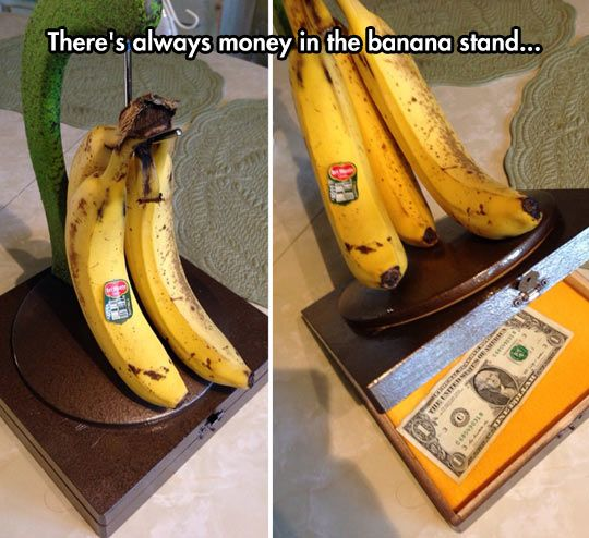 There's Always Money ahh I love the smell of arrested development puns in the morning
