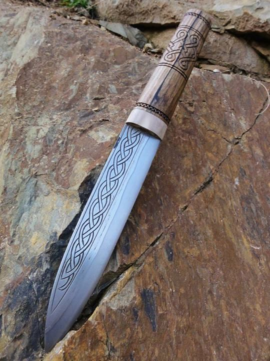 Nice Viking styled knife