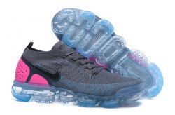 b4c1b0af6110 Nike Air VaporMax Moc 2 Unisex Running Shoes Dark gray Peach Red in ...