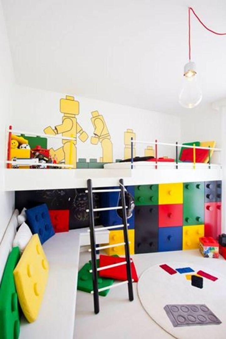 Игровая комната в Лего-стиле