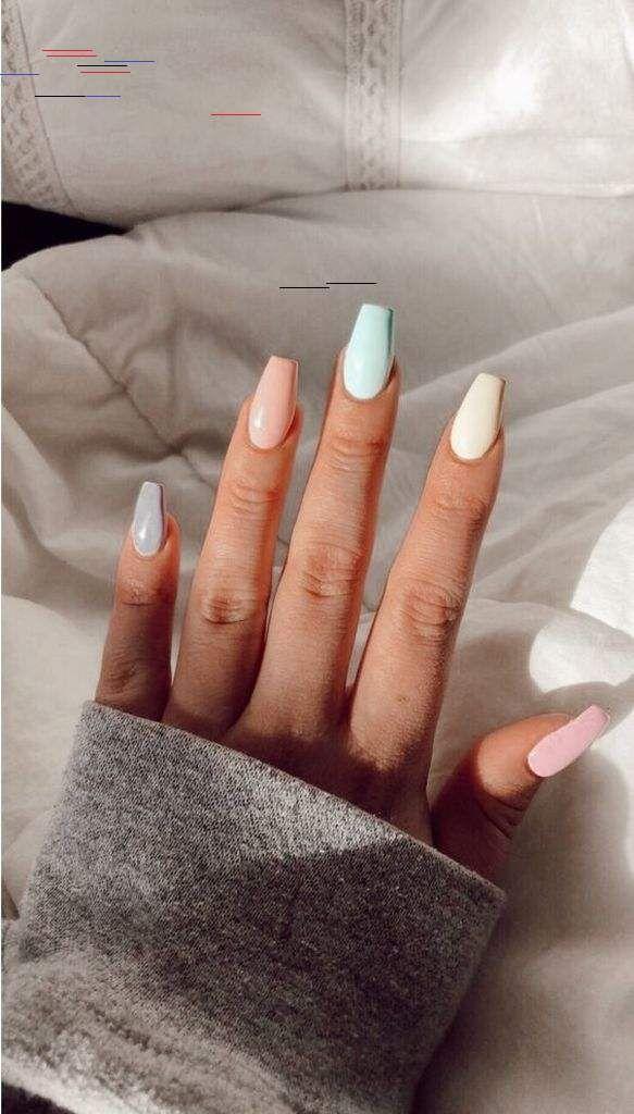 40 Latest Acrylic Nail Designs For Summer 2019 Acrylic Nail