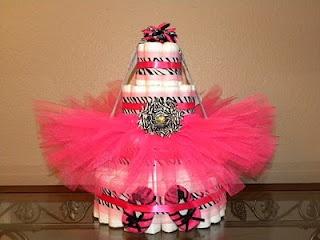 Zebra Diaper Cake: Zebras Diapers, Little Girls, Baby Shower Ideas, Cute Ideas, Baby Ideas, Diapers Cake, Diaper Cakes, Baby Girls, Baby Shower
